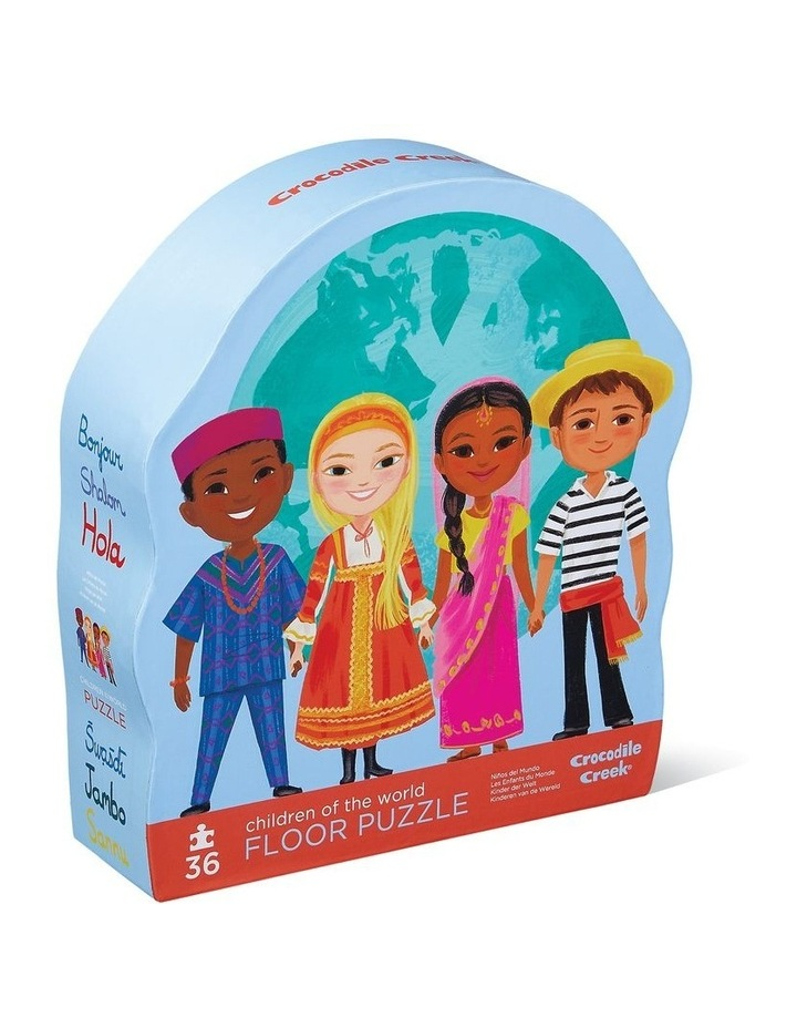 36pc Puzzle Children of the World image 1