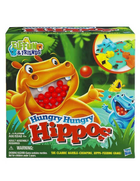 Hungry Hungry Hippos - The Classic Marble Chomping Game image 1