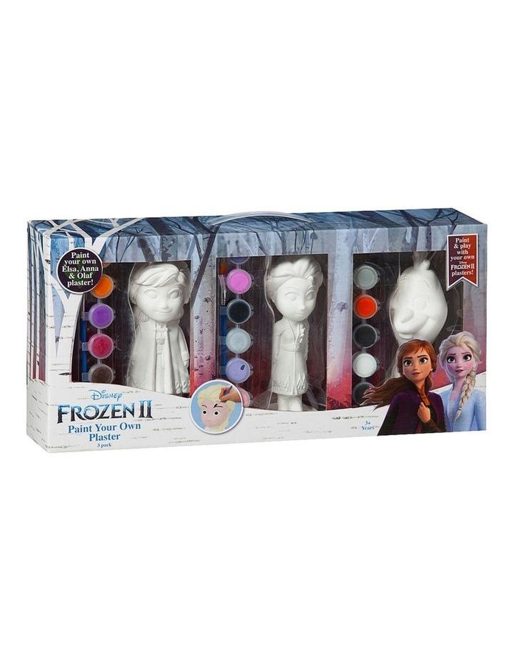 Disney Frozen Paint Your Own Figure 3pk image 1