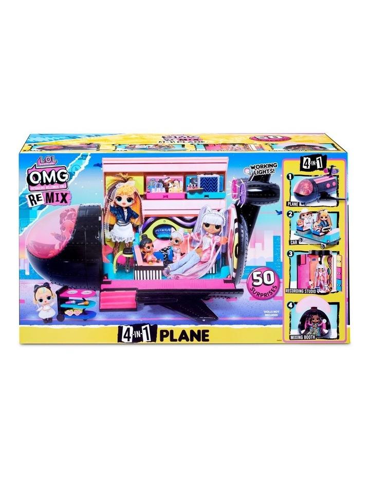 L.O.L. Surprise! O.M.G. Remix 4-in-1 Plane Playset Transforms  50 Surprises image 2