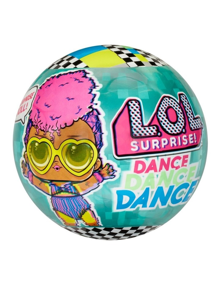 L.O.L Surprise Dance Dance Dance Dolls with 8 Surprises Including Spinning Dance Floor, Dance Move Card and Accessories image 1