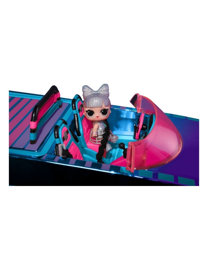 L.O.L Surprise Dance Machine Car with Exclusive Doll, Surprise Pool and Dance Floor, Multicolour and Magic Blacklight image 2
