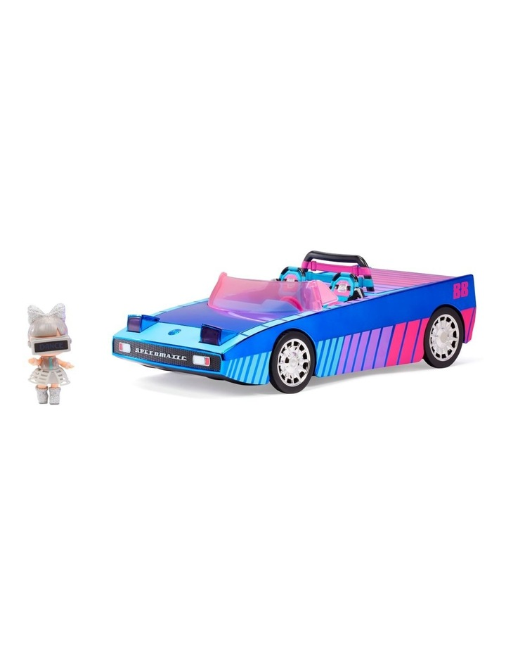 L.O.L Surprise Dance Machine Car with Exclusive Doll, Surprise Pool and Dance Floor, Multicolour and Magic Blacklight image 5