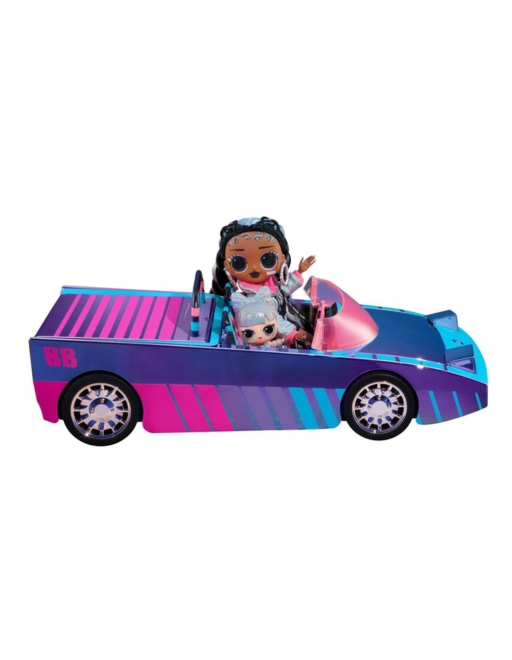 L.O.L Surprise Dance Machine Car with Exclusive Doll, Surprise Pool and Dance Floor, Multicolour and Magic Blacklight image 6