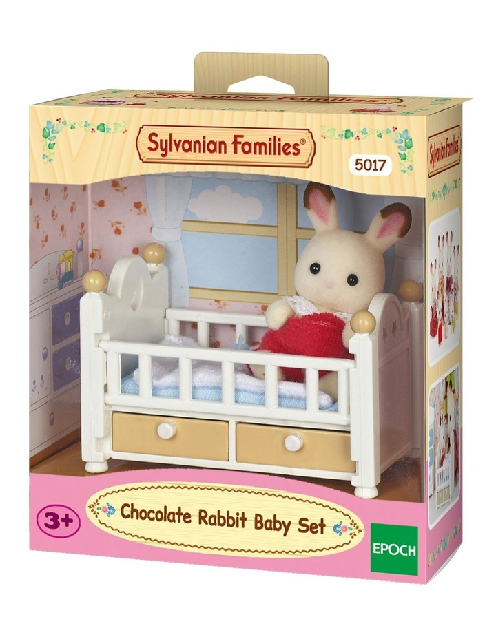 Chocolate Rabbit Baby Set image 1