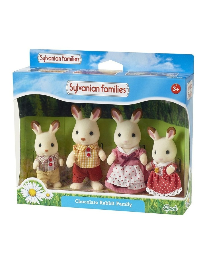 Chocolate Rabbit Family image 1