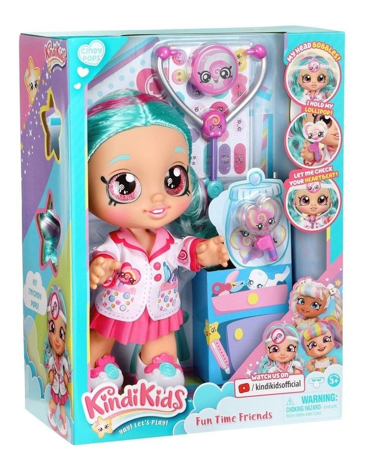 Kindi Kids Fun Time Doll - Dr Cindy Pops image 5