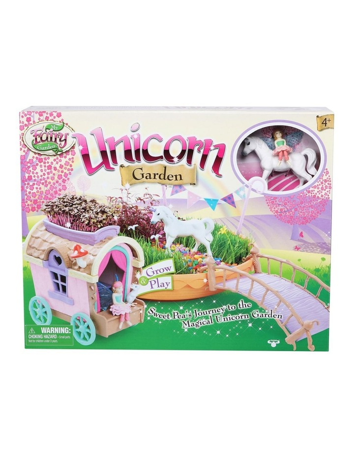 Unicorn Garden & Caravan Play Set image 1