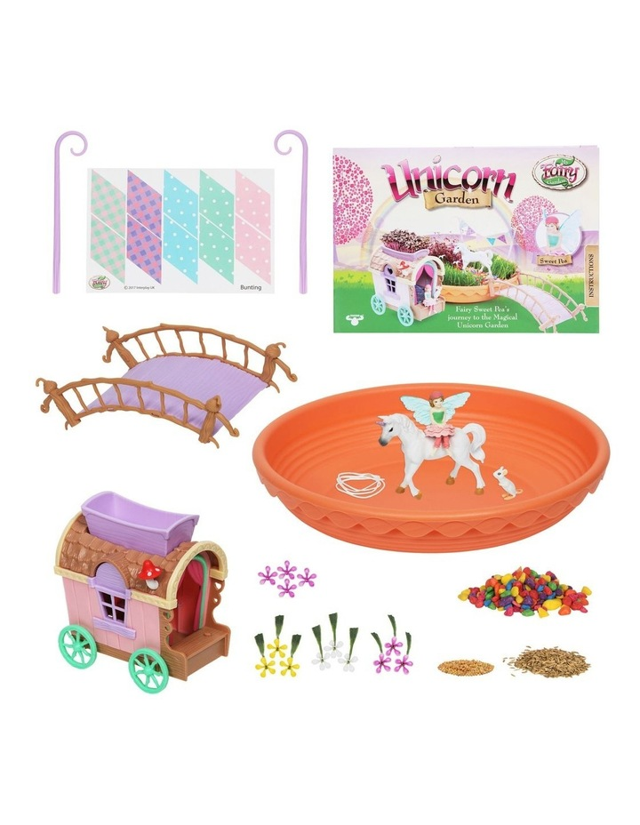 Unicorn Garden & Caravan Play Set image 2