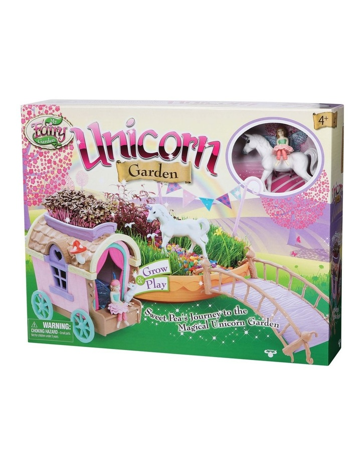 Unicorn Garden & Caravan Play Set image 3