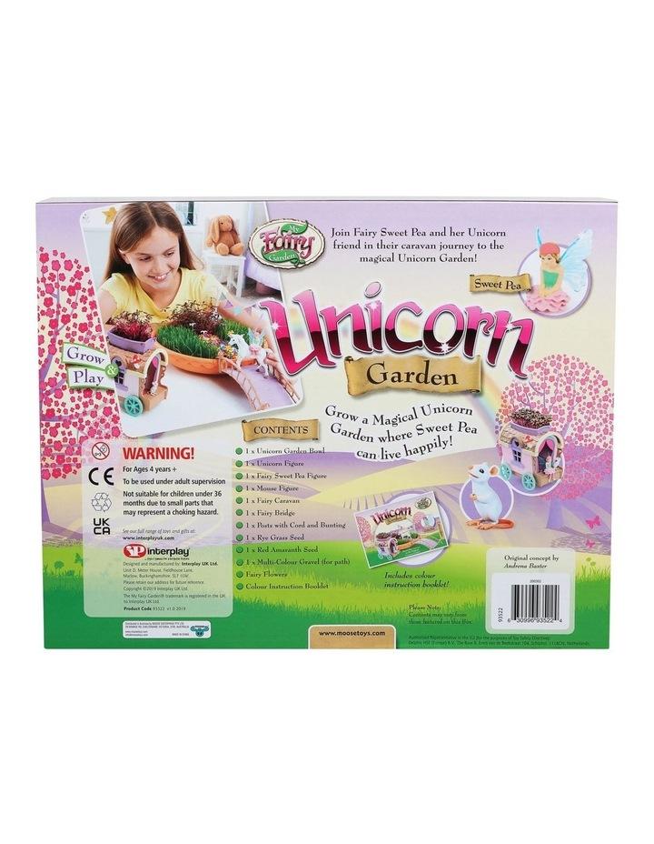 Unicorn Garden & Caravan Play Set image 4