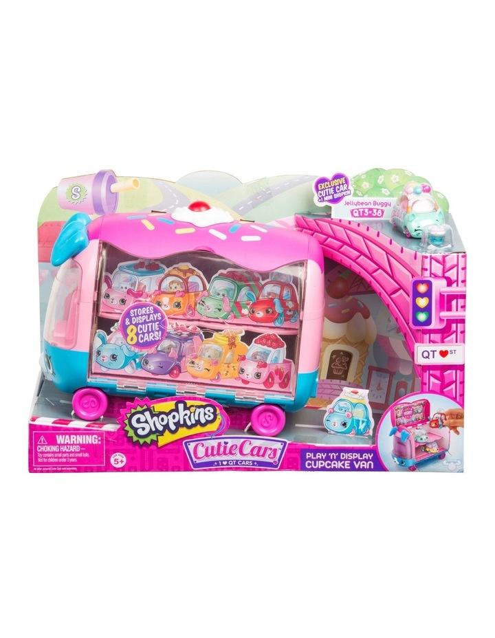 Cutie Cars - Play 'N' Display Cupcake Van image 1
