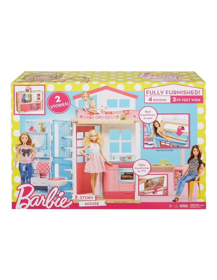 Barbie 2-Story House Playset image 1