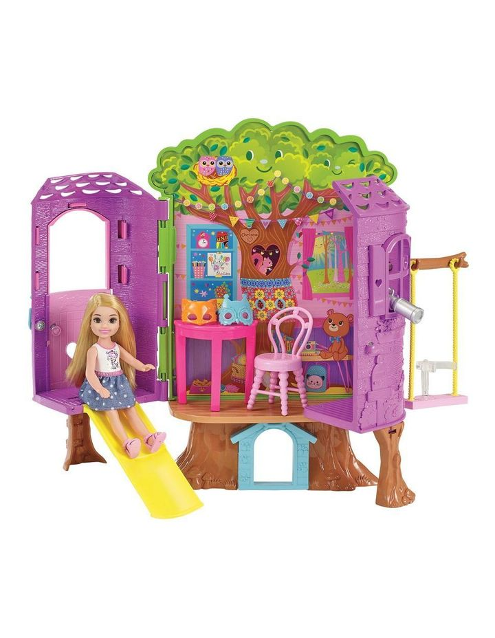 Chelsea Doll Treehouse Playset image 1
