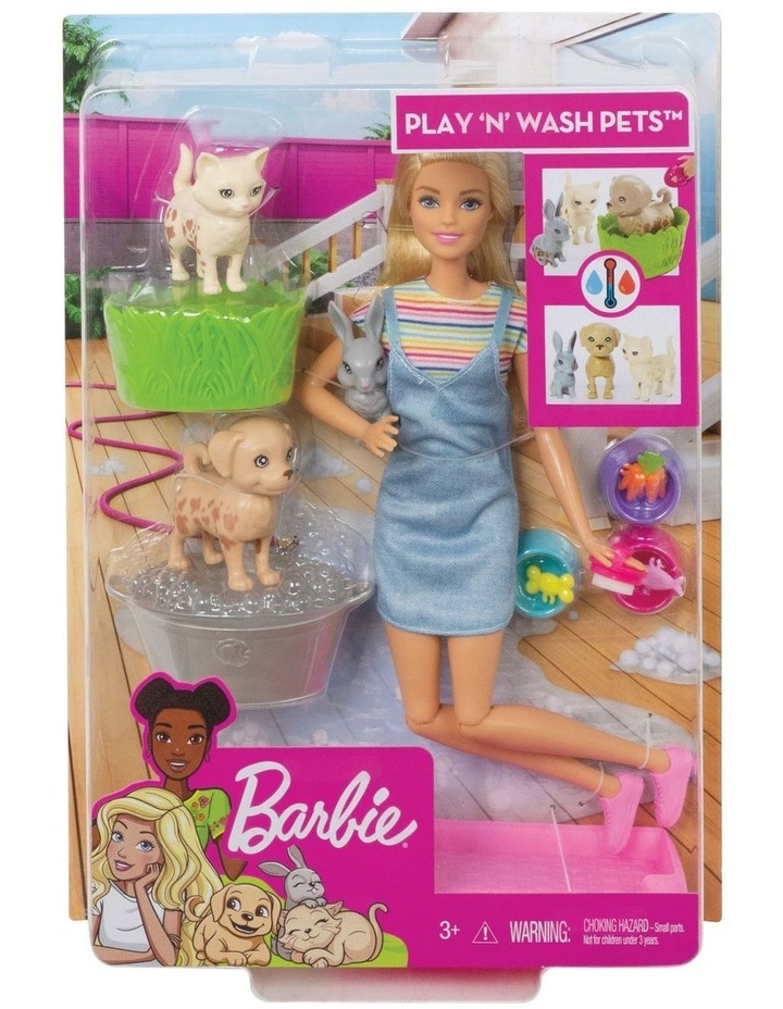 Plan & Wash Pets Doll and Playset image 1