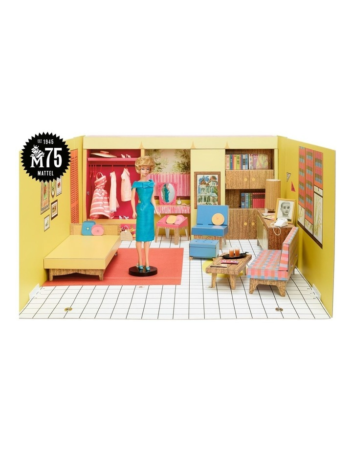 Barbie's 75th Anniversary Dream House with Doll and Accessories image 2