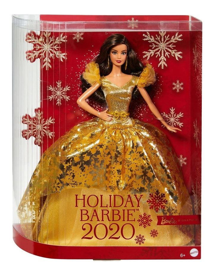 2020 Holiday Barbie Doll image 1