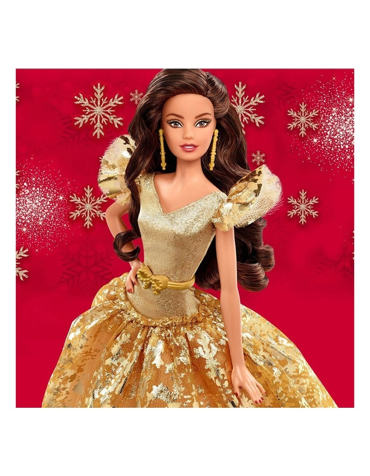 2020 Holiday Barbie Doll image 3