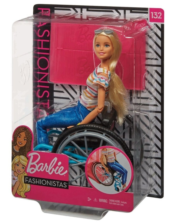 Fashionistas Wheelchair Doll image 1