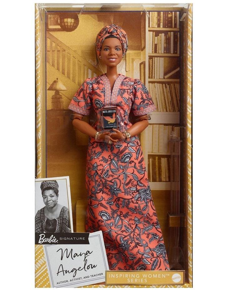 Maya Angelou Barbie Inspiring Women Doll image 1