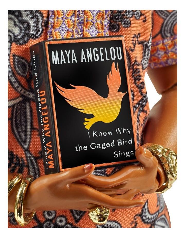 Maya Angelou Barbie Inspiring Women Doll image 4
