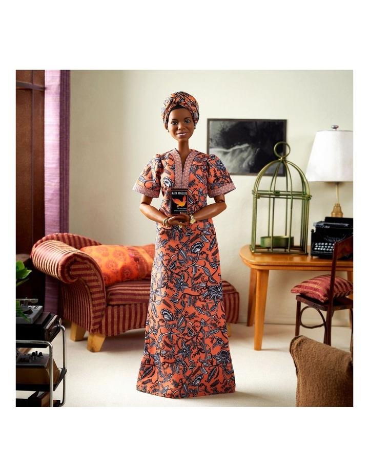 Maya Angelou Barbie Inspiring Women Doll image 5