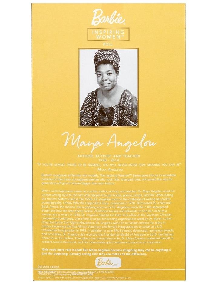 Maya Angelou Barbie Inspiring Women Doll image 6