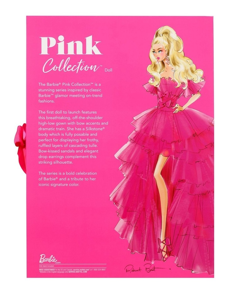 Barbie Pink Collection Doll image 5