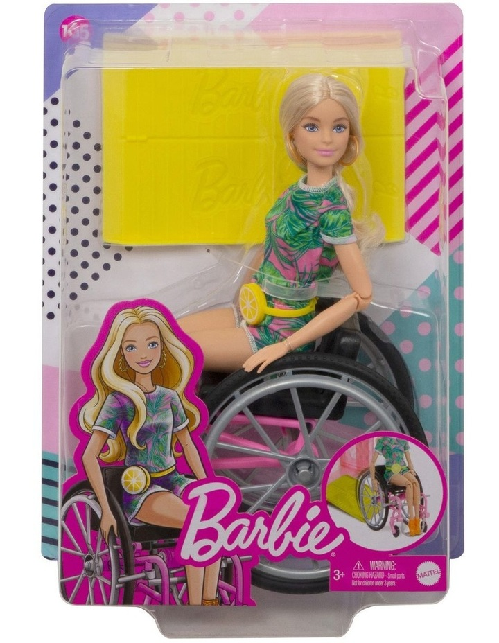 Barbie Fashionista Wheelchair Doll and Accessory image 1