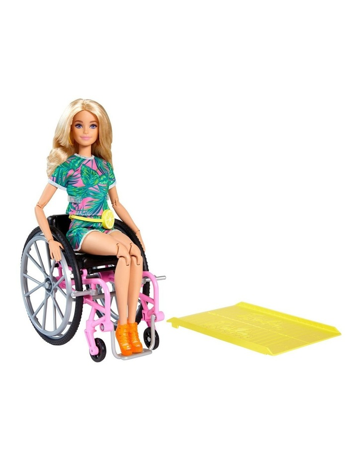 Barbie Fashionista Wheelchair Doll and Accessory image 2