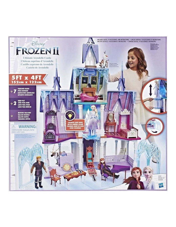 Ultimate Arendelle 152cm Castle Play Set - Colourful Light Show image 1