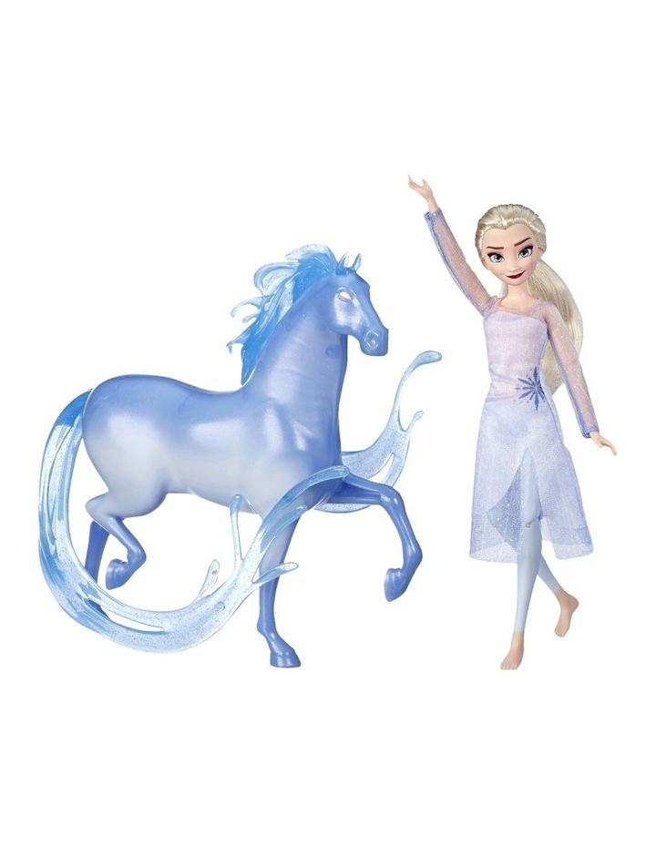 Frozen 2 Elsa Fashion Doll & the Nokk Figure - Mythical Water Spirit image 2