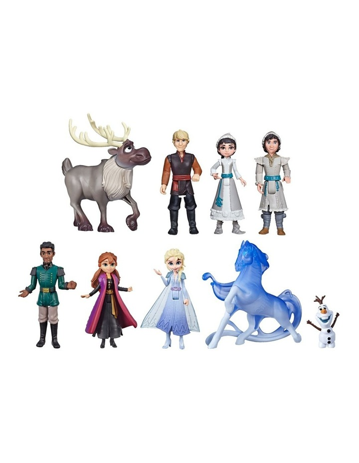 Ultimate Frozen Doll Set Collection - 9 Small FIgures including Anna, Elsa, Olaf & More image 1