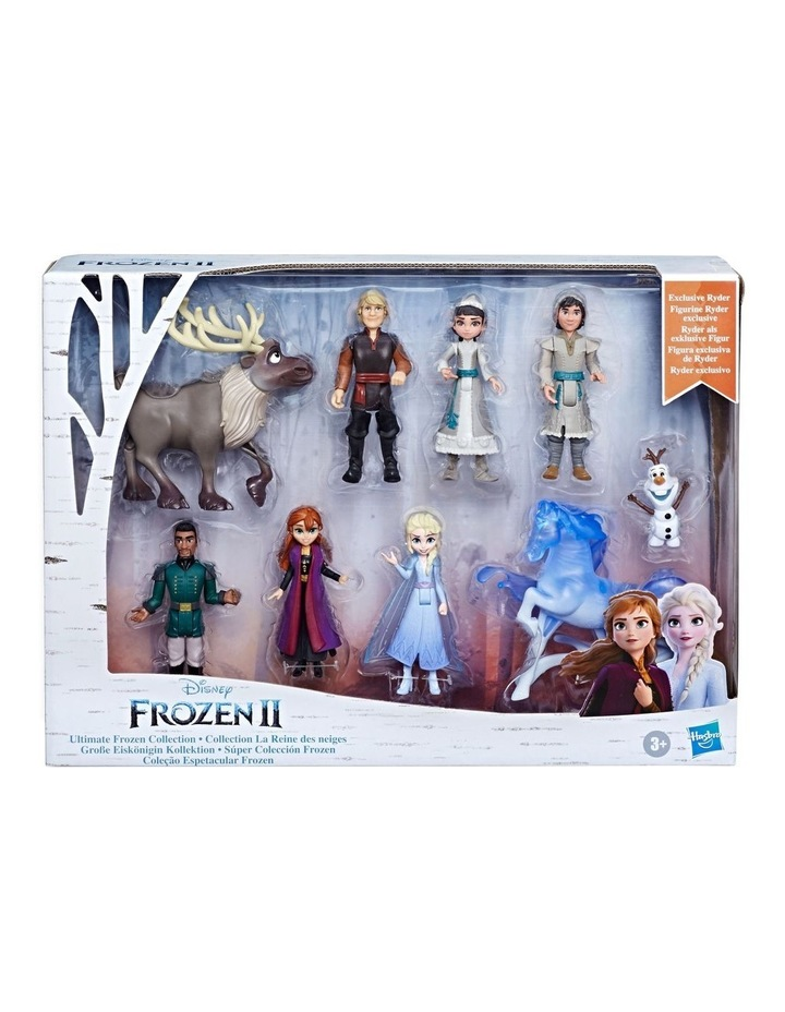 Ultimate Frozen Doll Set Collection - 9 Small FIgures including Anna, Elsa, Olaf & More image 3