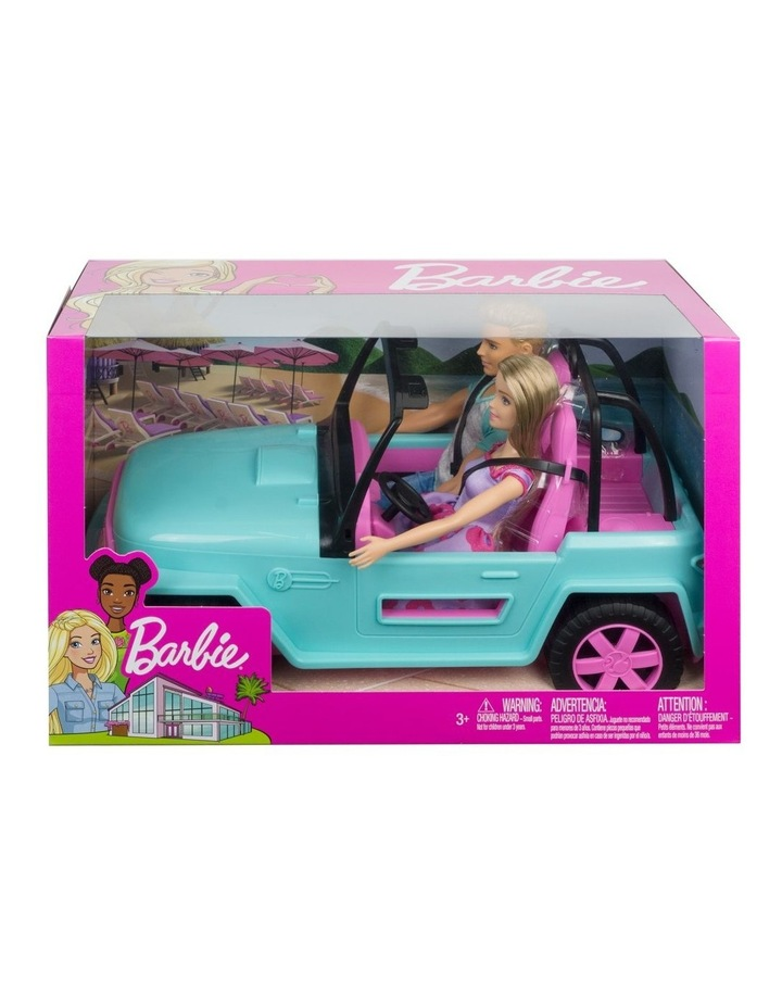 Barbie Dolls and Vehicle image 1