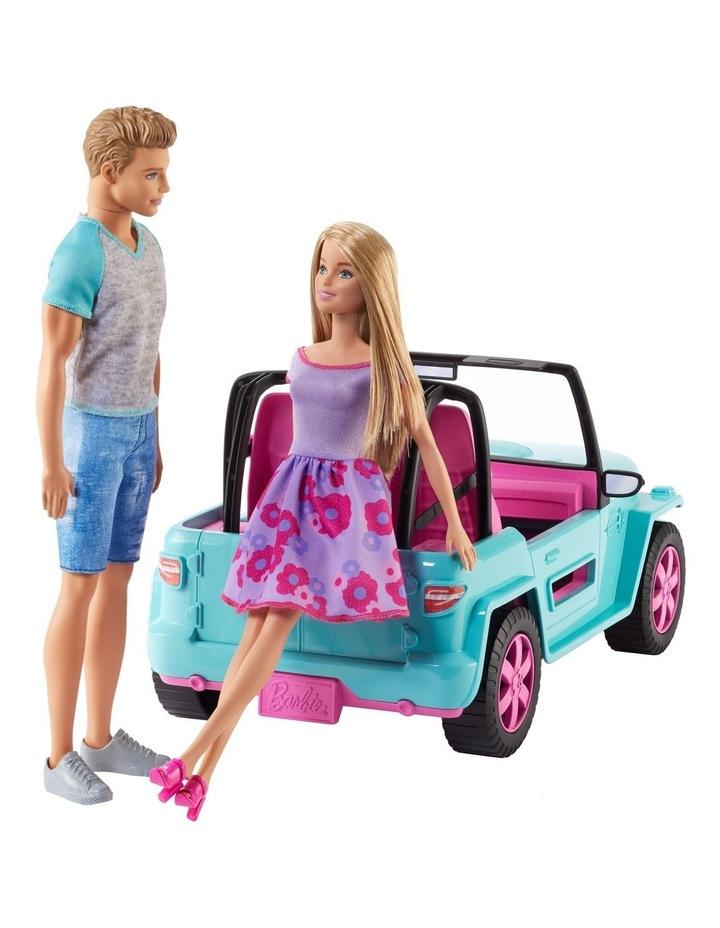 Barbie Dolls and Vehicle image 3