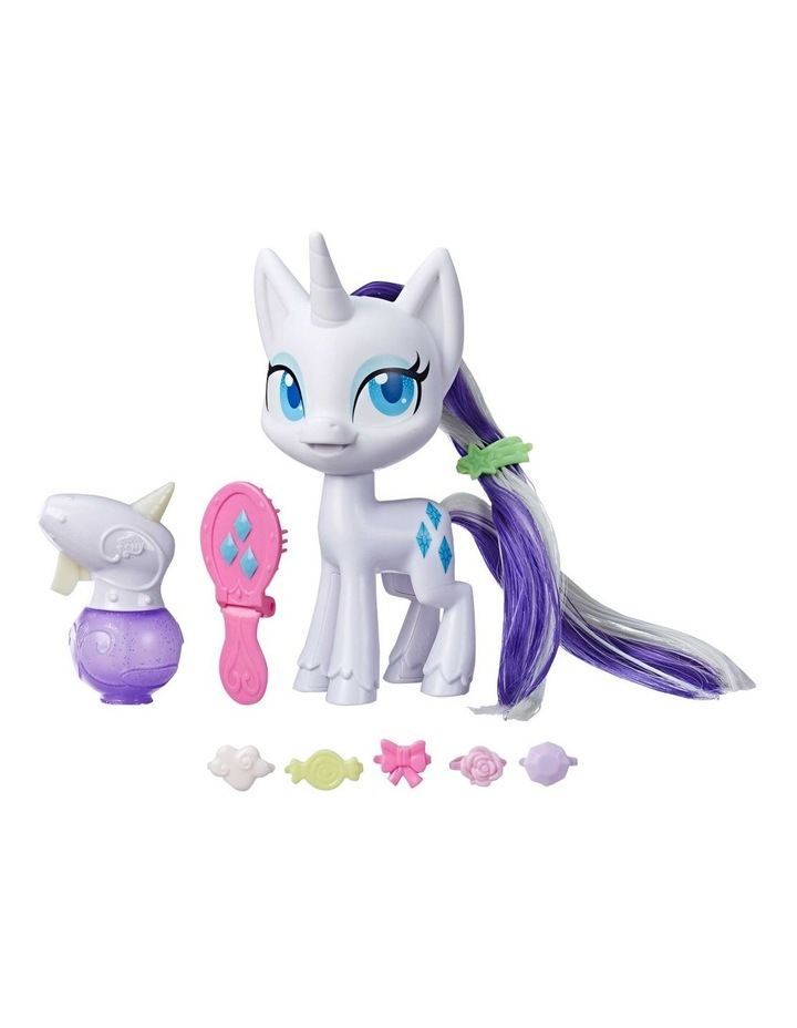 """Magical Mane 6.5"""" Rarity Doll - Hair Grows & Changes Color image 1"""