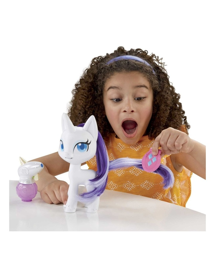 """Magical Mane 6.5"""" Rarity Doll - Hair Grows & Changes Color image 6"""