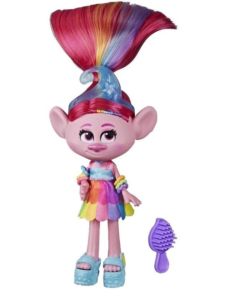 Glam Fashion Trolls Dolls Poppy - Chenille - Satin - Assortment image 2
