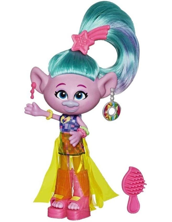 Glam Fashion Trolls Dolls Poppy - Chenille - Satin - Assortment image 3