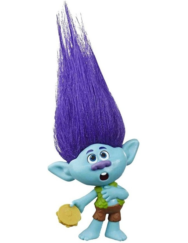 World Tour DreamWorks - Trolls Doll Figures - Assortment - Branch - Mermaid - Tiny Diamond - Barb - Poppy image 3