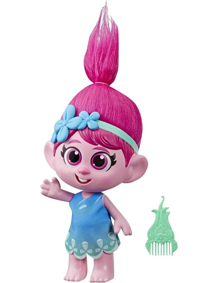 World Tour DreamWorks - Toddler Poppy Doll with Removable Dress & Comb image 1