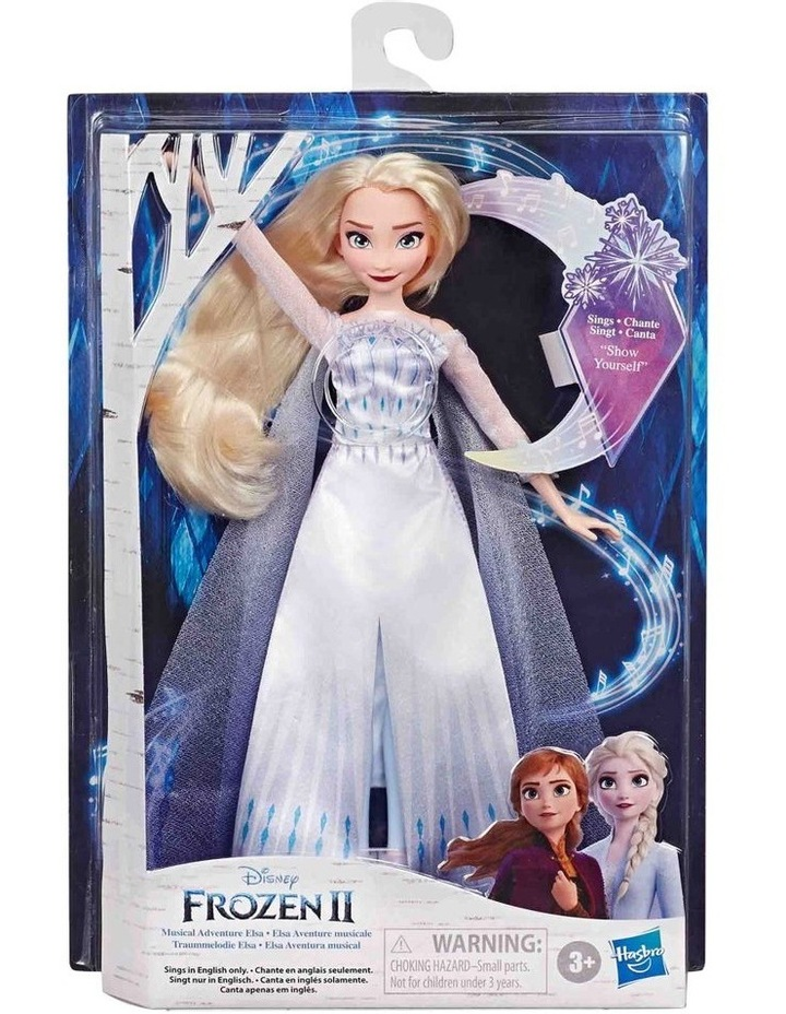 Frozen 2 Elsa Musical Adventure Singing Doll - Sings Show Yourself image 2