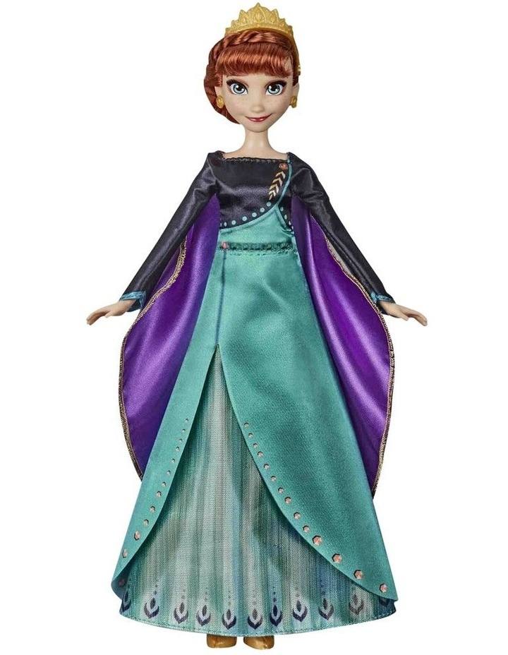 Disney Frozen 2 Anna Musical Adventure Singing Doll - Sings Some Things Never Change image 1