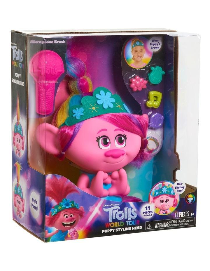 Trolls World Tour Poppy Styling Head image 2