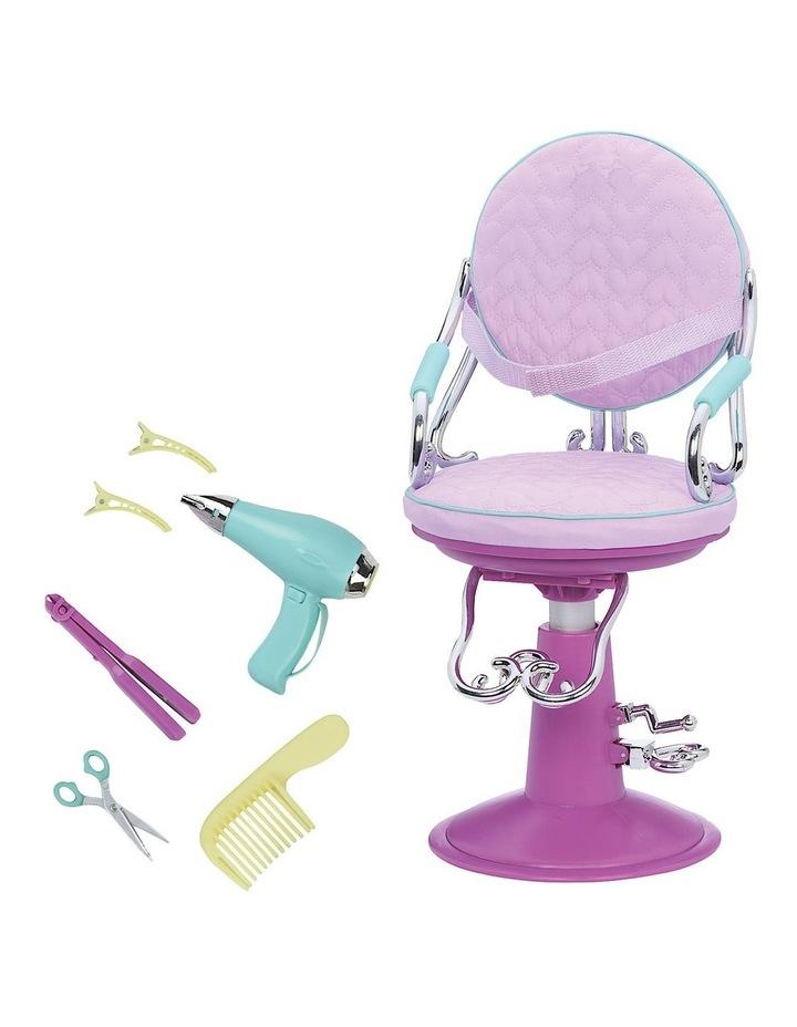 Salon Chair Lilac Hearts image 2