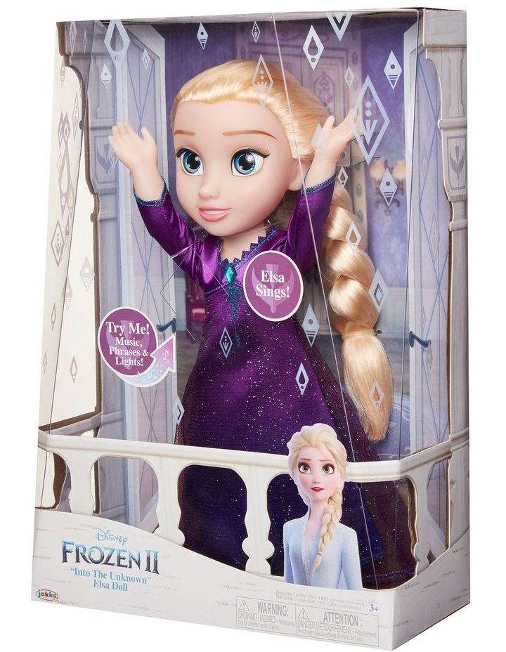 Frozen 2 Feature Elsa PJ Doll image 2