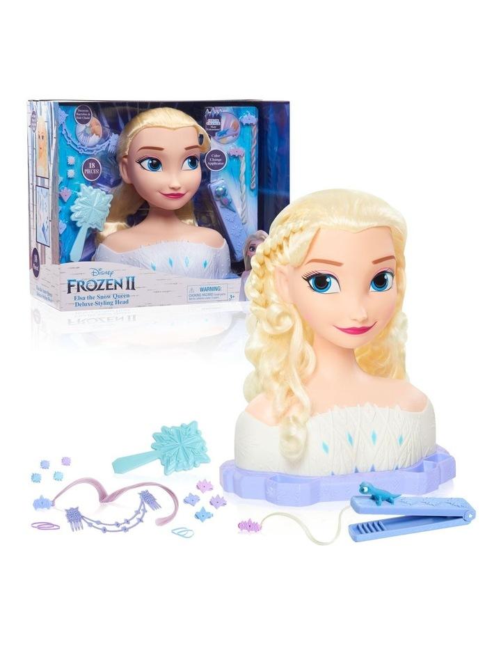Disney Frozen II Deluxe Elsa Styling Head image 1