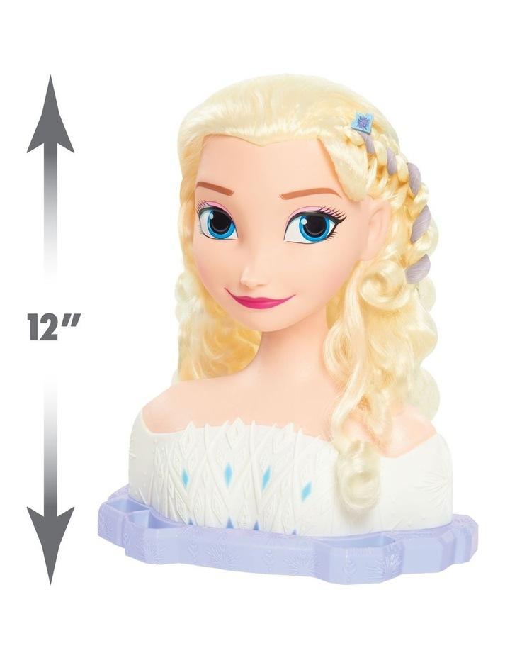 Disney Frozen II Deluxe Elsa Styling Head image 2