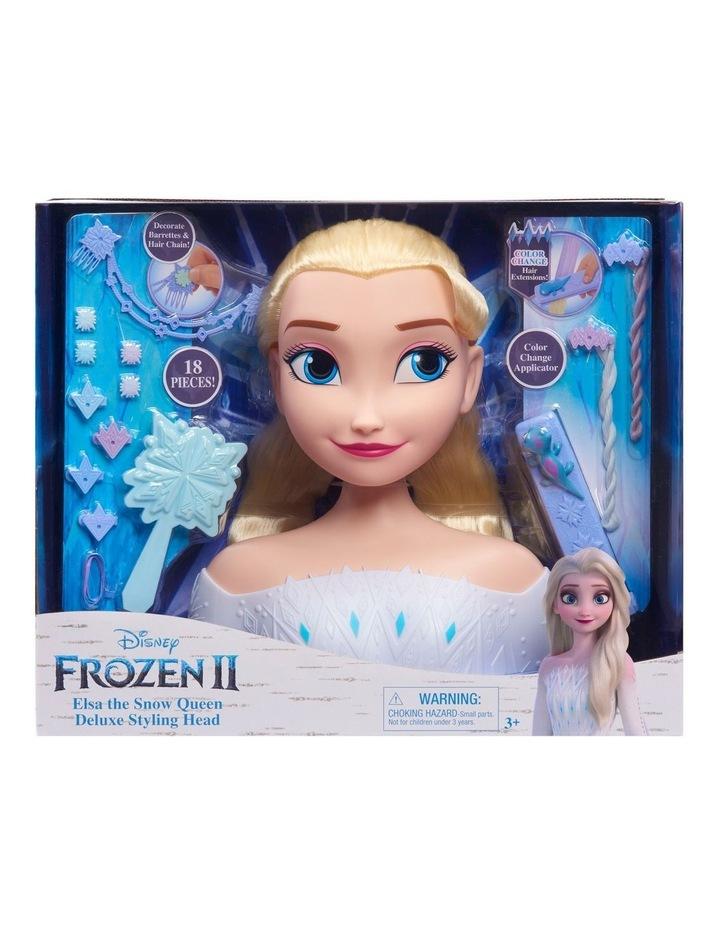 Disney Frozen II Deluxe Elsa Styling Head image 3